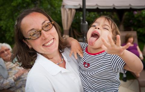 Annie & Marina Grimacante