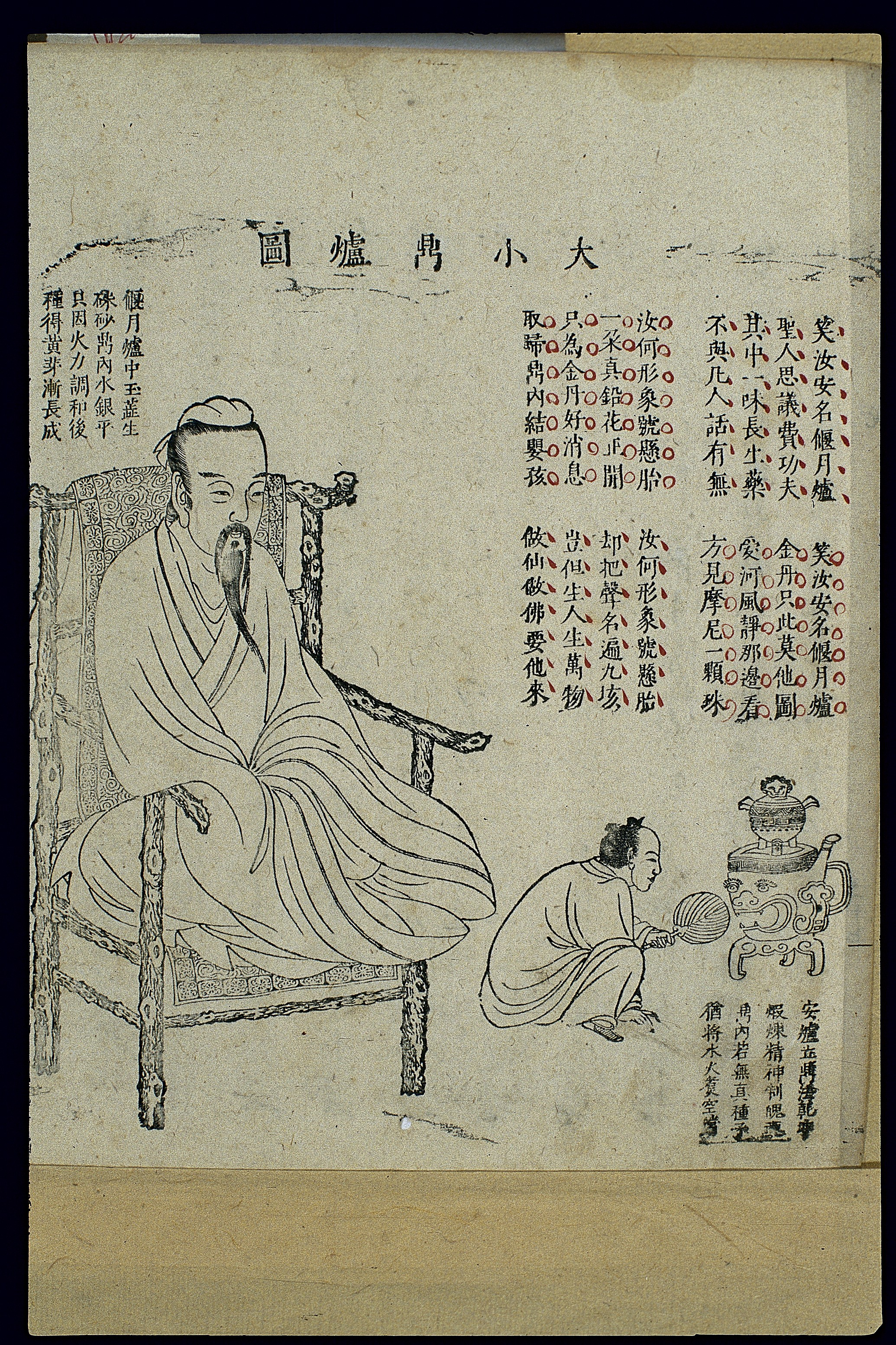 How alchemy became modern chemistry chinese woodcut daoist internal alchemy 3 credit wellcome library london biocorpaavc Images