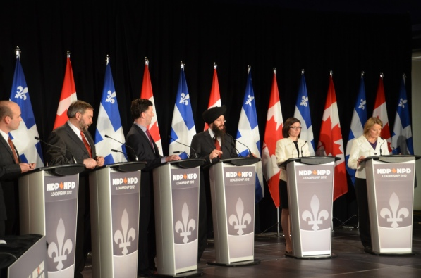 New Democratic Party (NDP) leaders debate