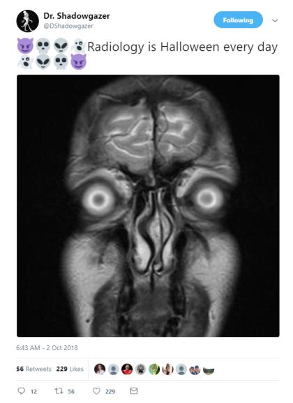 radiology halloween